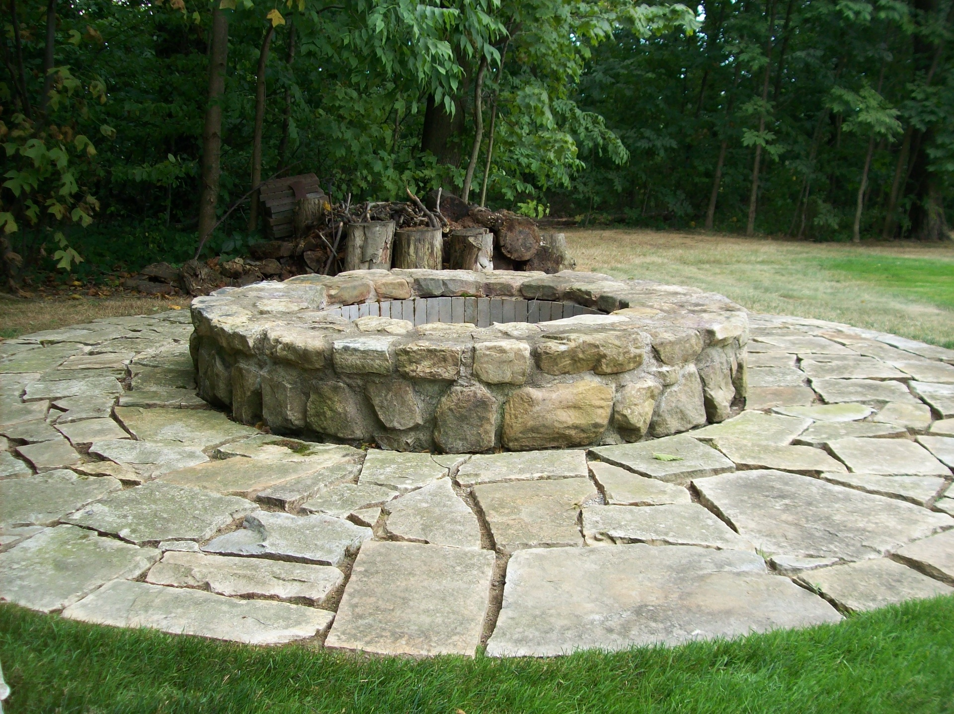 Sand Stone Fire Pit